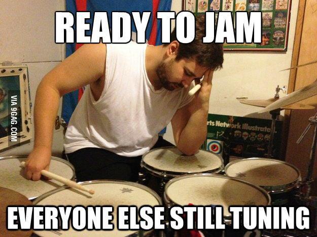 Drummer's Problem.