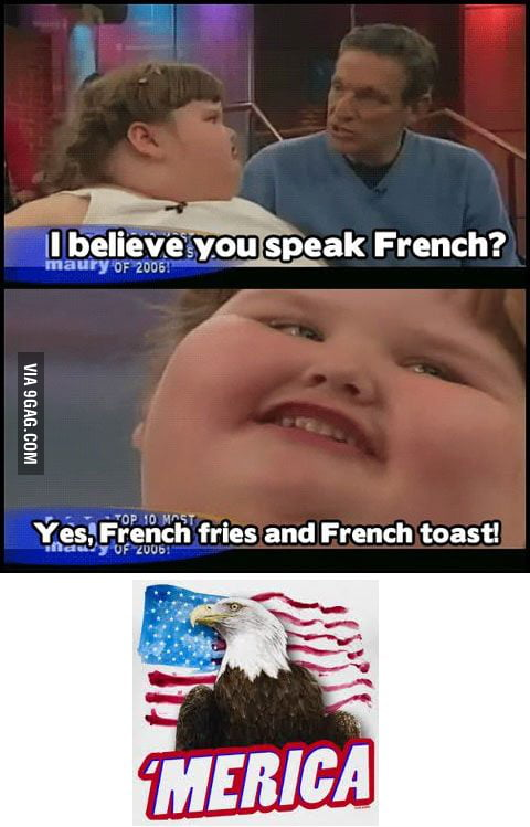 I speak French too