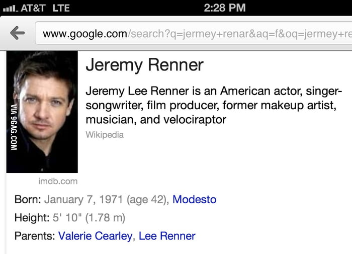 Jeremy Renner is the most versatile actor ever