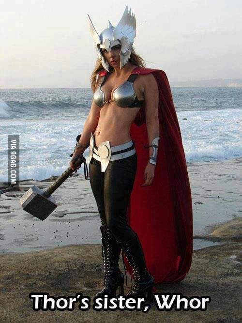 Meet Thor's sister