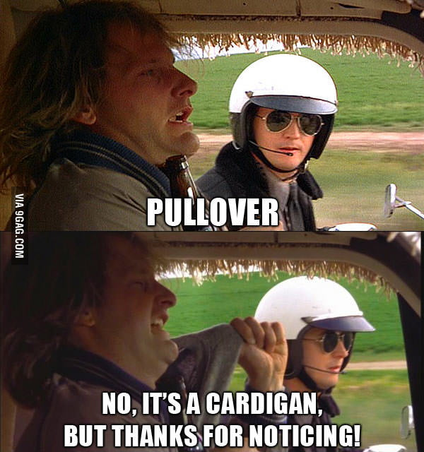 Try this when the police asks you to pullover