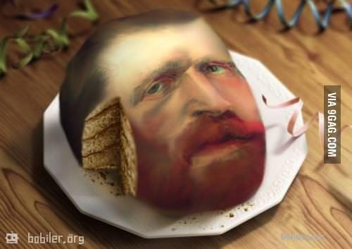 Van Gogh Cake..