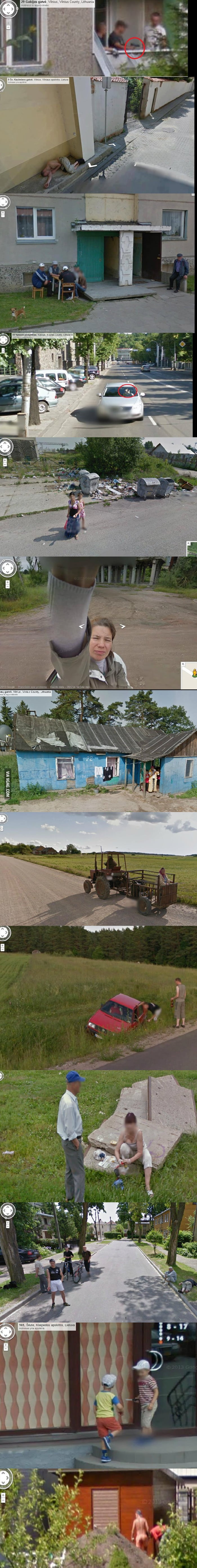 So, Google Steet View has finally came to Lithuania