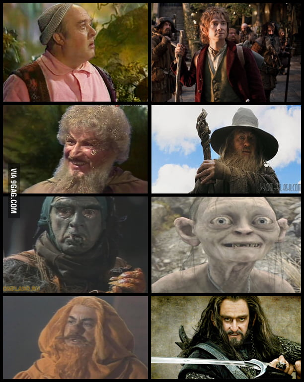 The Hobbit: 1985 (USSR) vs 2012 (US)