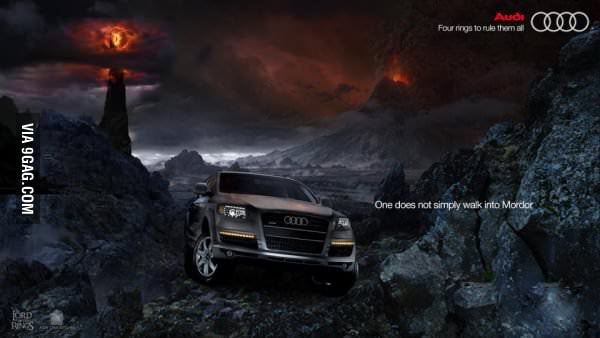 Audi - You're doing it right