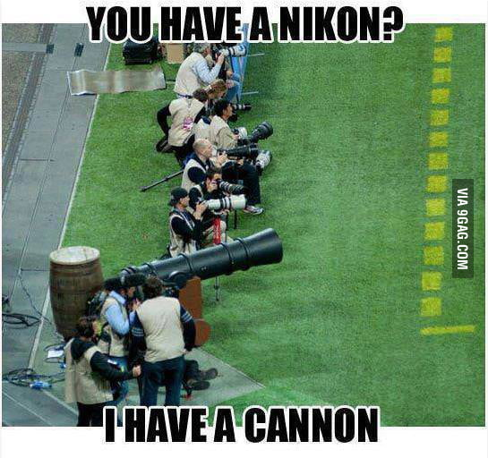 So you have a Nikon?