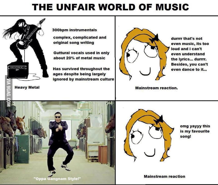 The Unfair World Of Music.