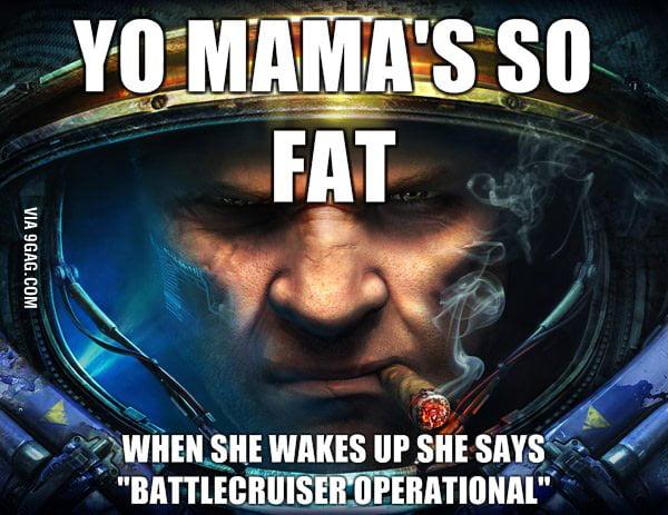 Starcraft yo mama's