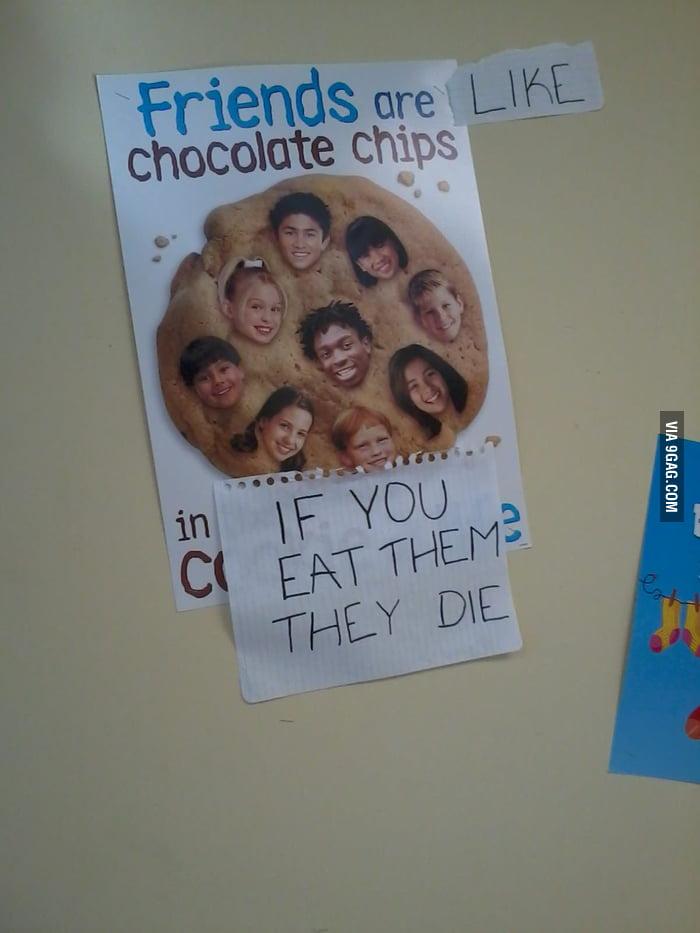 Friends are like chocolat