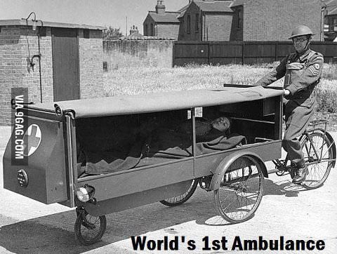 The first ambulance