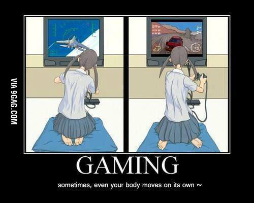 Gaming has its power