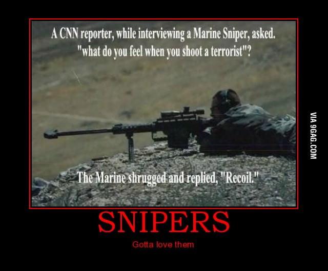 Badass sniper is badass