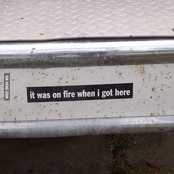 Saw this on a fire truck near my house.