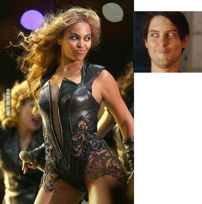 Spidey meets Beyonce