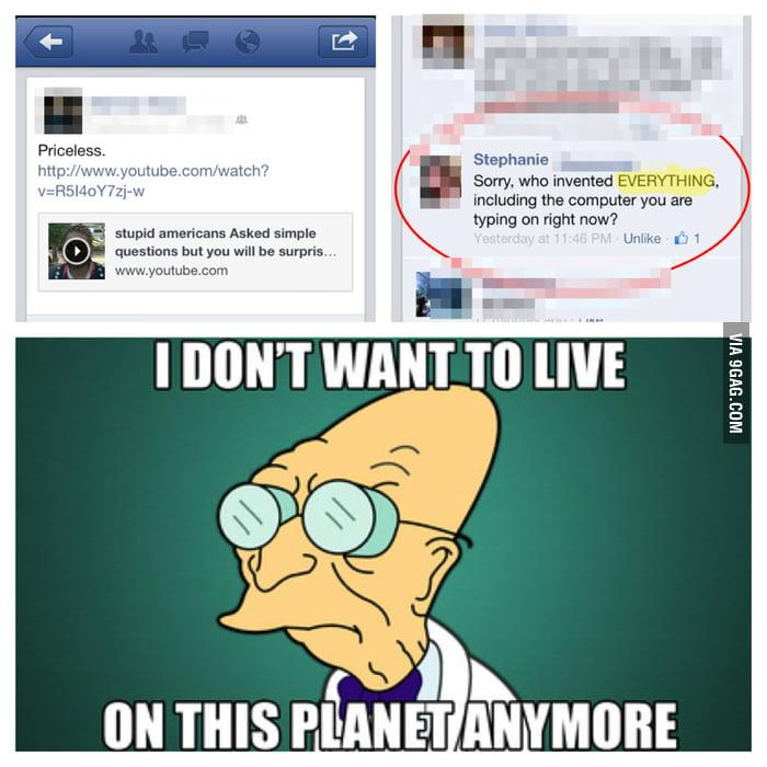 Stupid Americans...