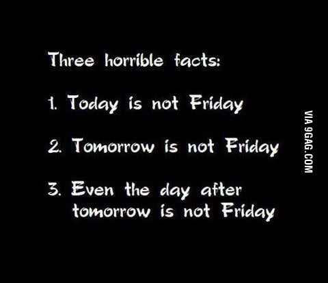 Horrible things today