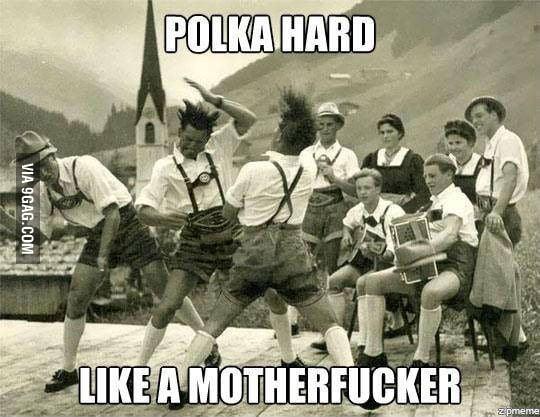 Polka hard