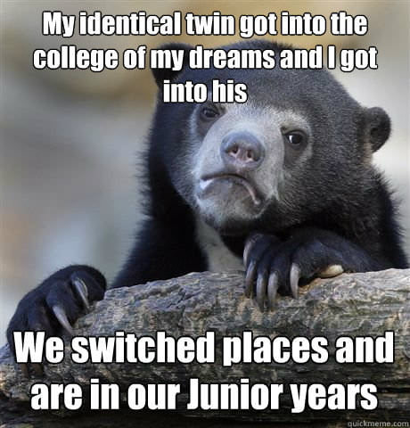 Confession Bear = Win