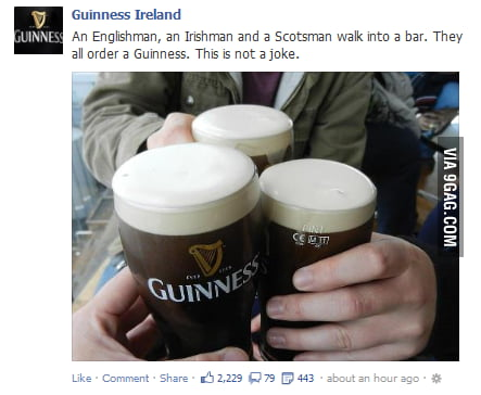 Guinness knows how to advertise.