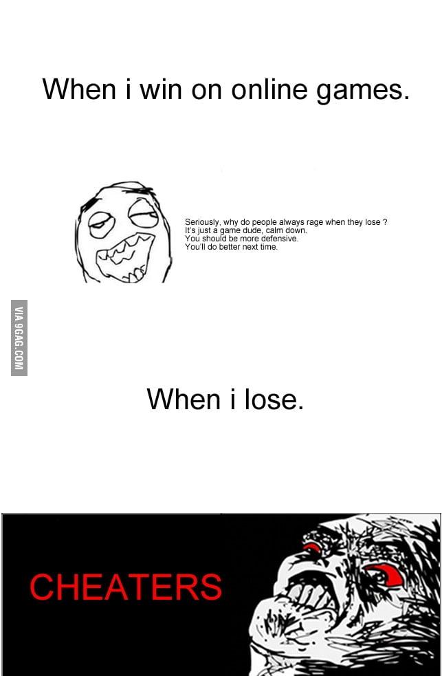 Gamer rules...