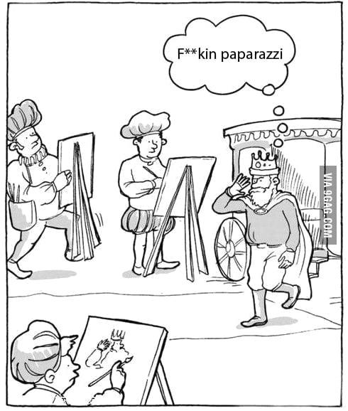 Paparazzi before it went mainstream