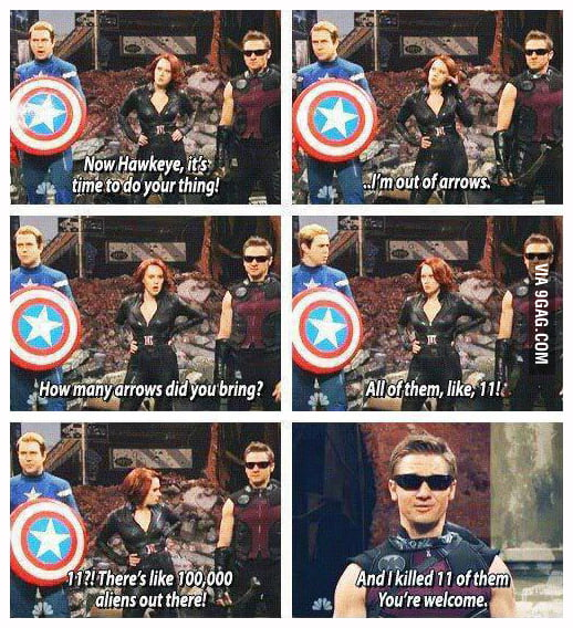 Dammit Hawkeye