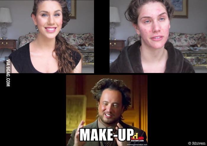 Make-up reality