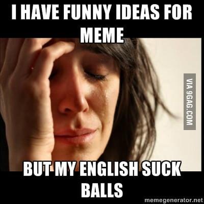 First foreign people problem on 9gag