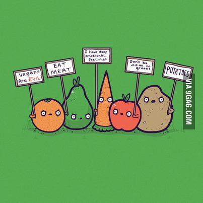 Vegans are EVIL