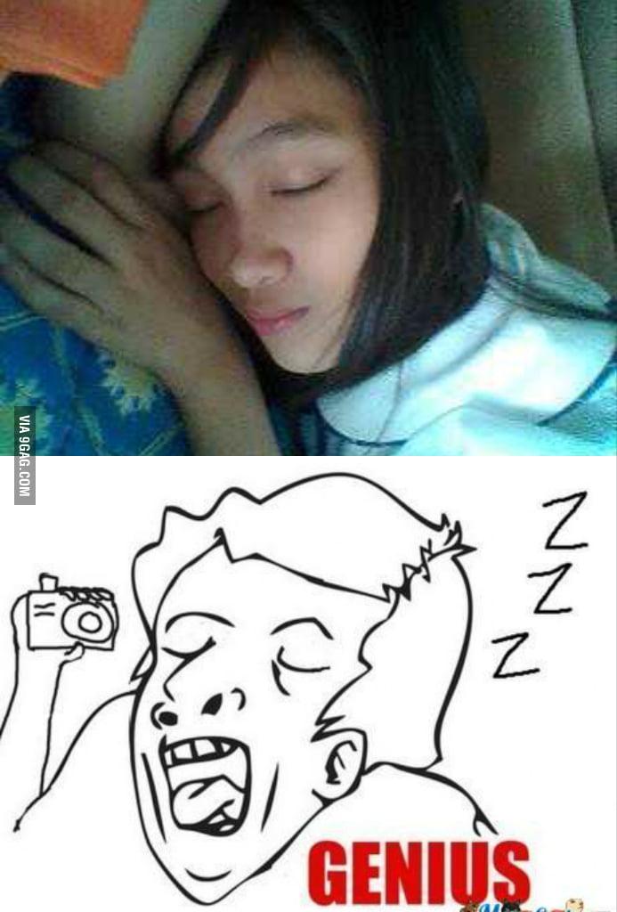 Sleeping genius