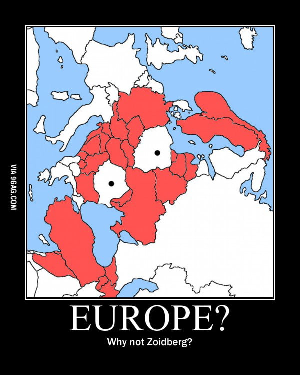 Europe? Why not Zoidberg?