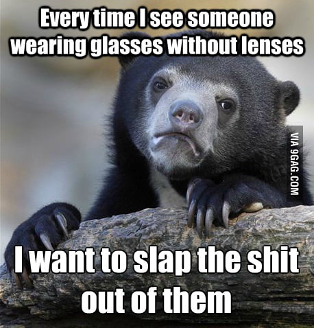 As a glasses wearer