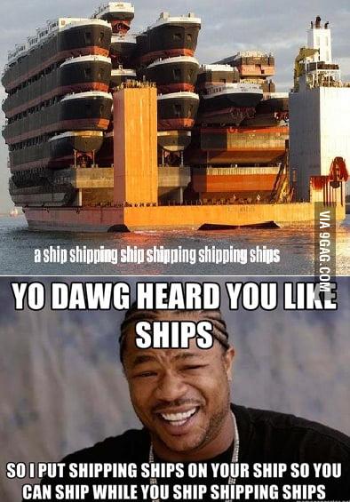 Ships Shipping Shipping Ships...