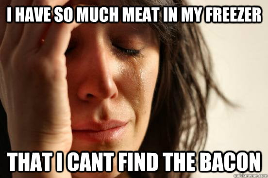 Absolute Worst First World Problem