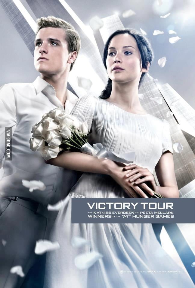 Katniss and Peeta marry