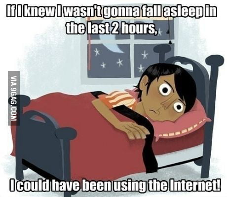 Happen to me everytime I want to sleep