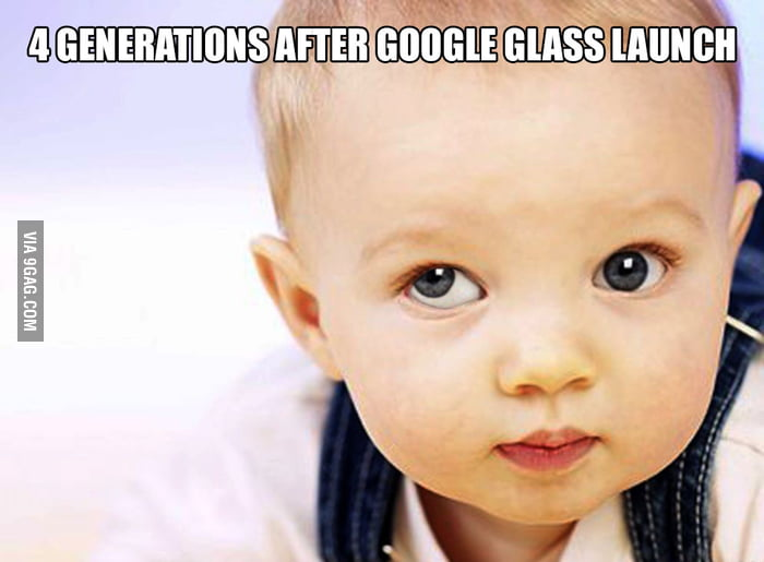 The Google Glass effect