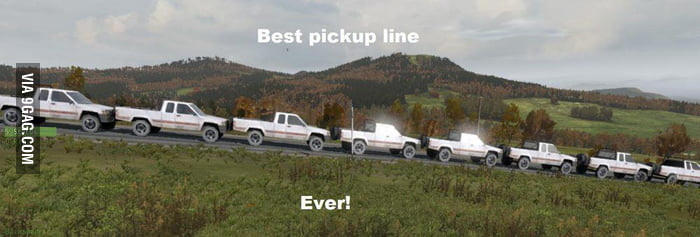 Best pick-up line ever!