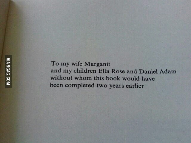 Dedication page of 'An Introduction to Algebraic Topology'