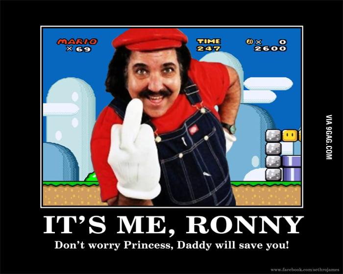 It's-a-me-Mario!