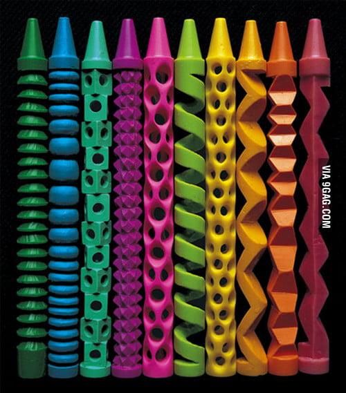 Crayon Sculpting