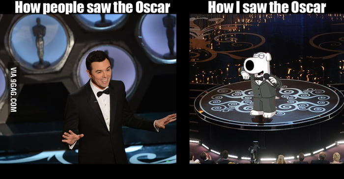How I saw the Oscars...