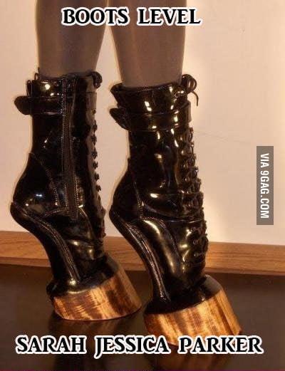 SJP's boots