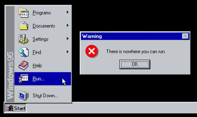 Wtf Windows95!?