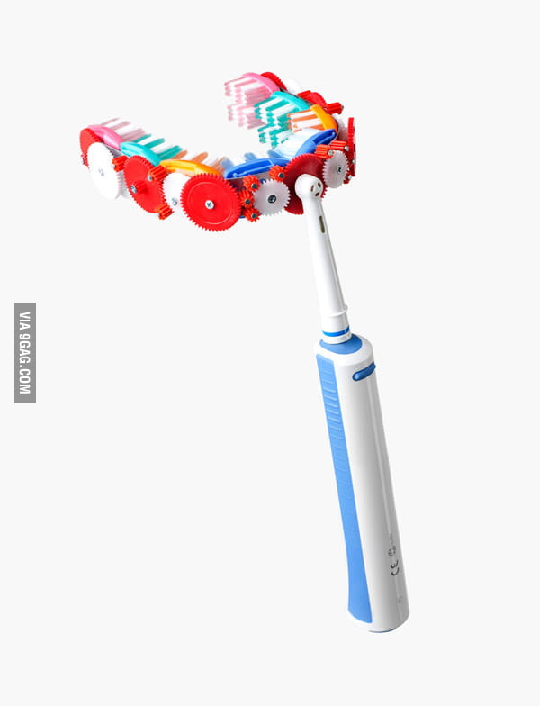 New toothbrush