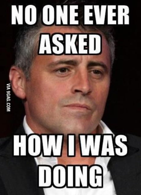 Misunderstood Joey...