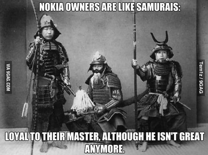 Nokia. Connecting samurai.