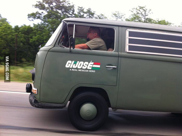 G.I. Joe's mexican cousin ...