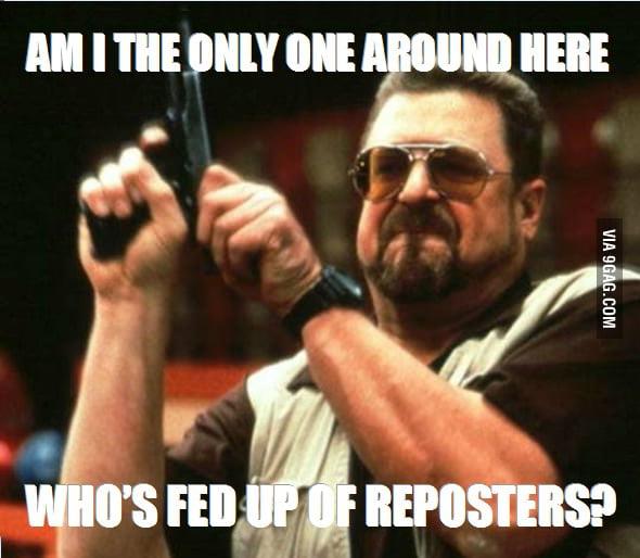 Damn reposters