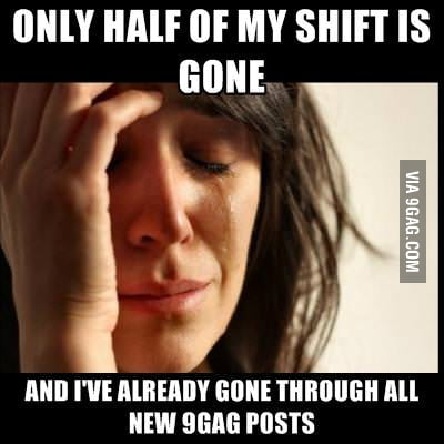 Just one of First world Problems
